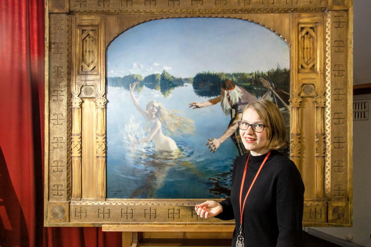 Akseli Gallen-Kallelalla oli elämänmittainen suhde Kalevalaan - Ainon  mallina toimi hänen Mary-vaimonsa 6e9ecb44c5