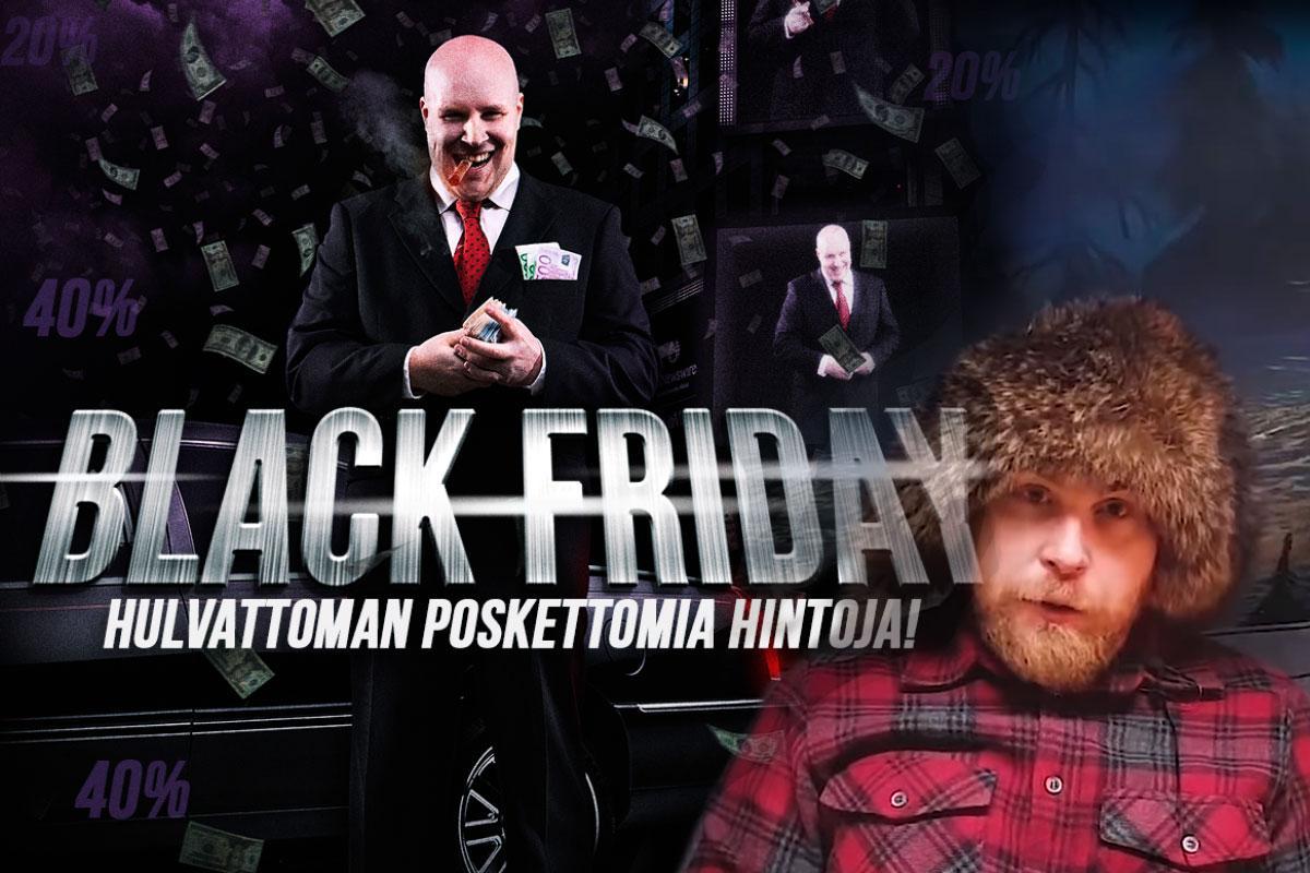 Varusteleka Black Friday