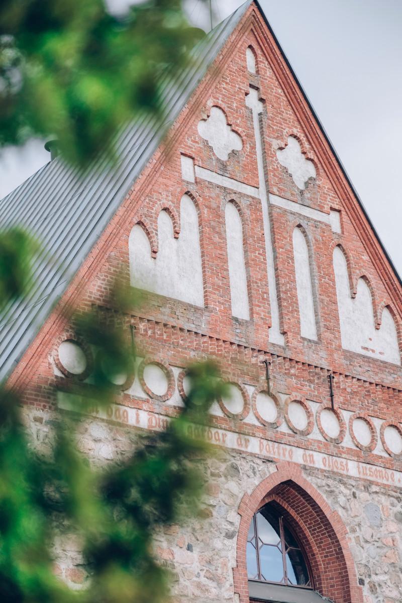 Pyhän Laurin kirkko.
